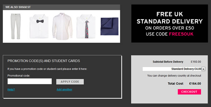 Where To Enter Your Topman Discount Code On Site