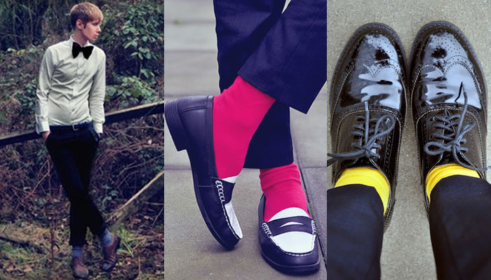 The Men's Fashion Sock Look Book