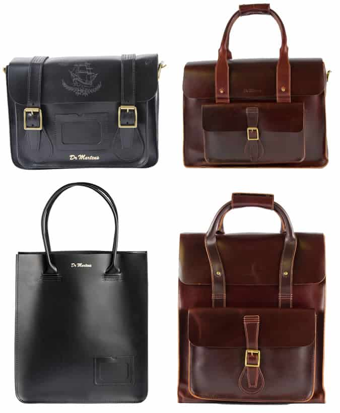 Dr. Martens Leather Bags SS13