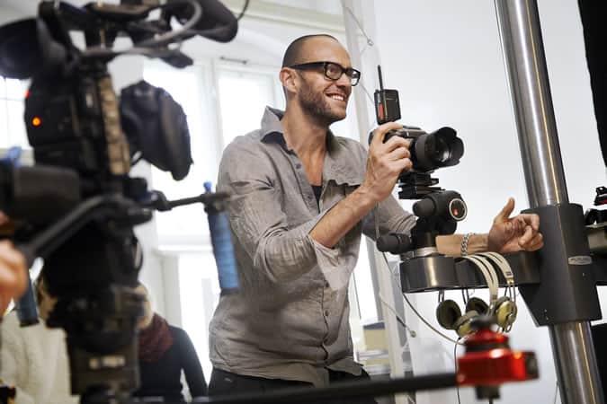 Acclaimed photographer, Alexander Gnädinger