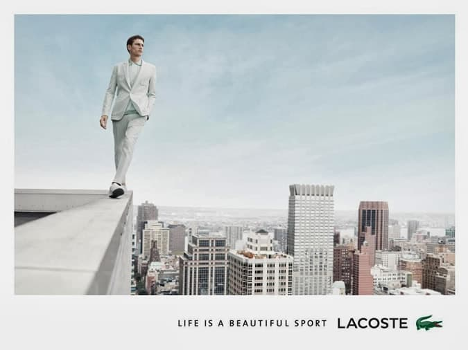 Lacoste Spring 2014 Campaign