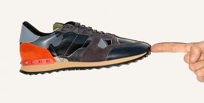 Valentino Trainers: AW14 Collection