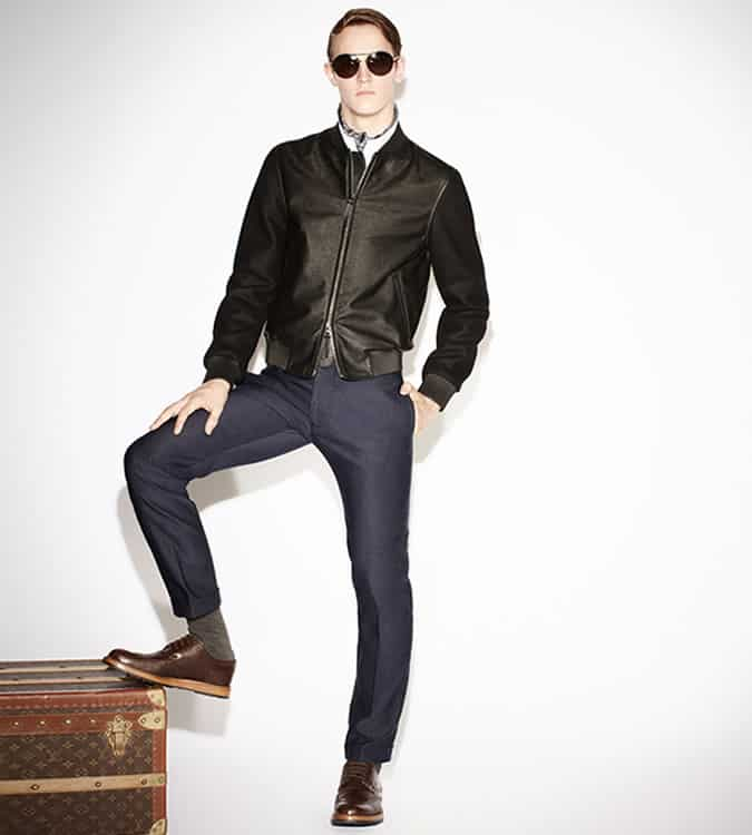 Men's Navy and Black Outfit