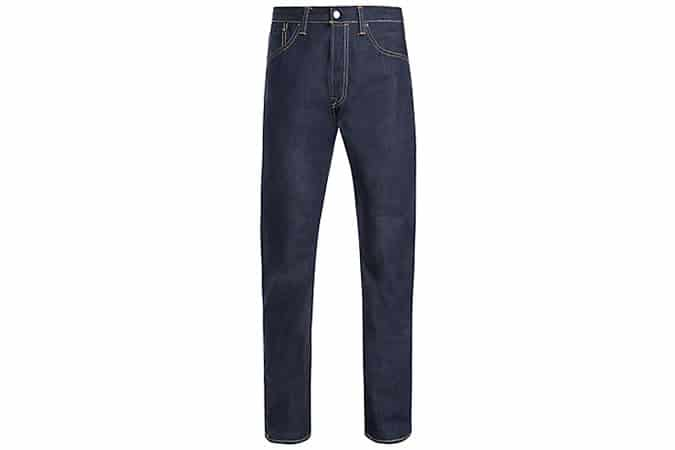 Levis 501 Straight Long Day Selvedge Jeans