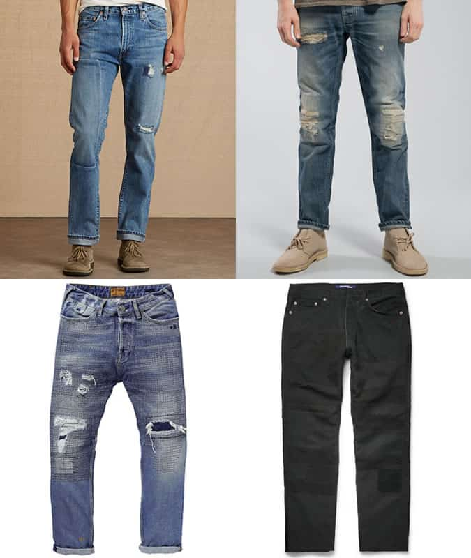 Men's Statement and Distressed Jeans