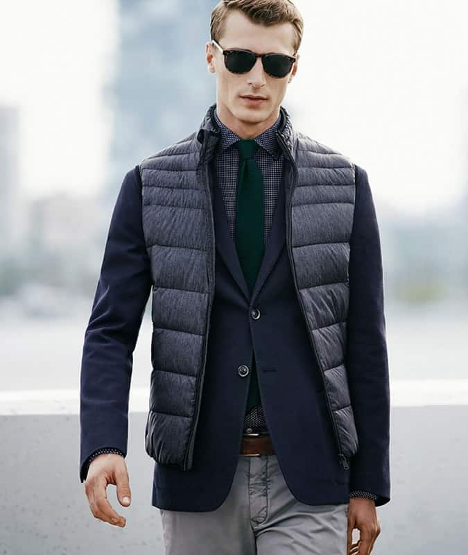 Gilet Over Blazer Outfit Inspiration