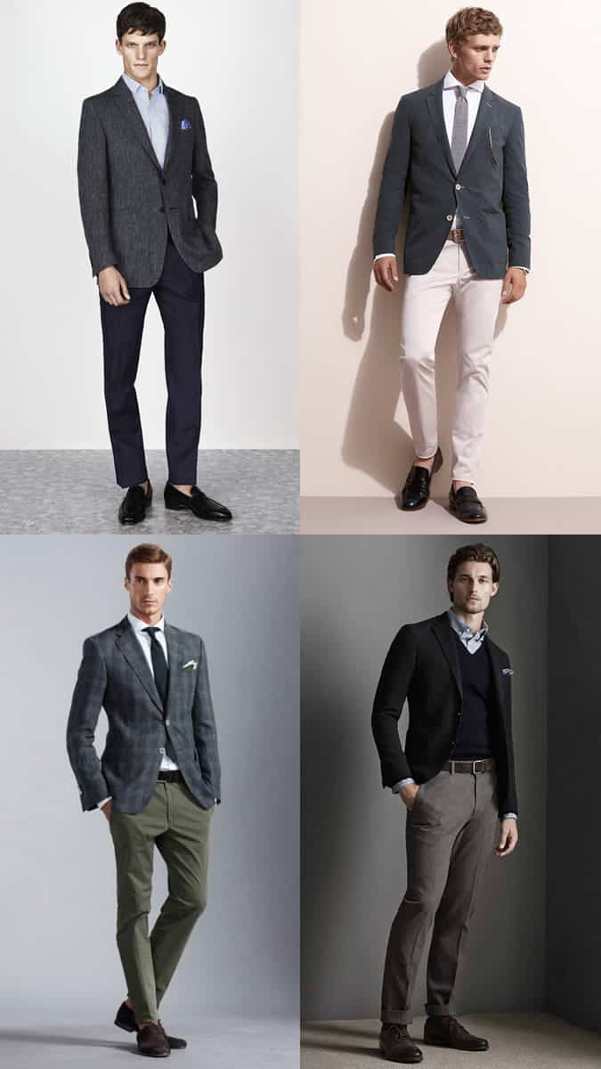 Men's Business-Casual Dress Code Outfit Inspiration Lookbook