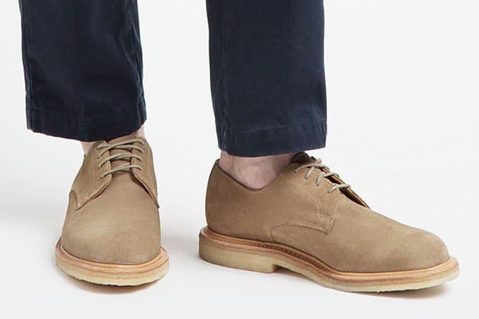 Men's Crepe Soled Shoes