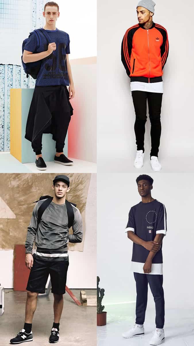 Men's Modern Hip-Hop-Inspired Outfit Lookbook