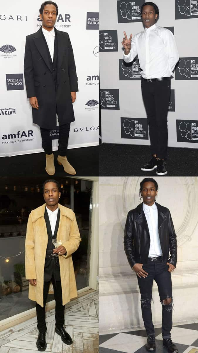 A$AP Rocky Personal Style - Outfit Lookbook