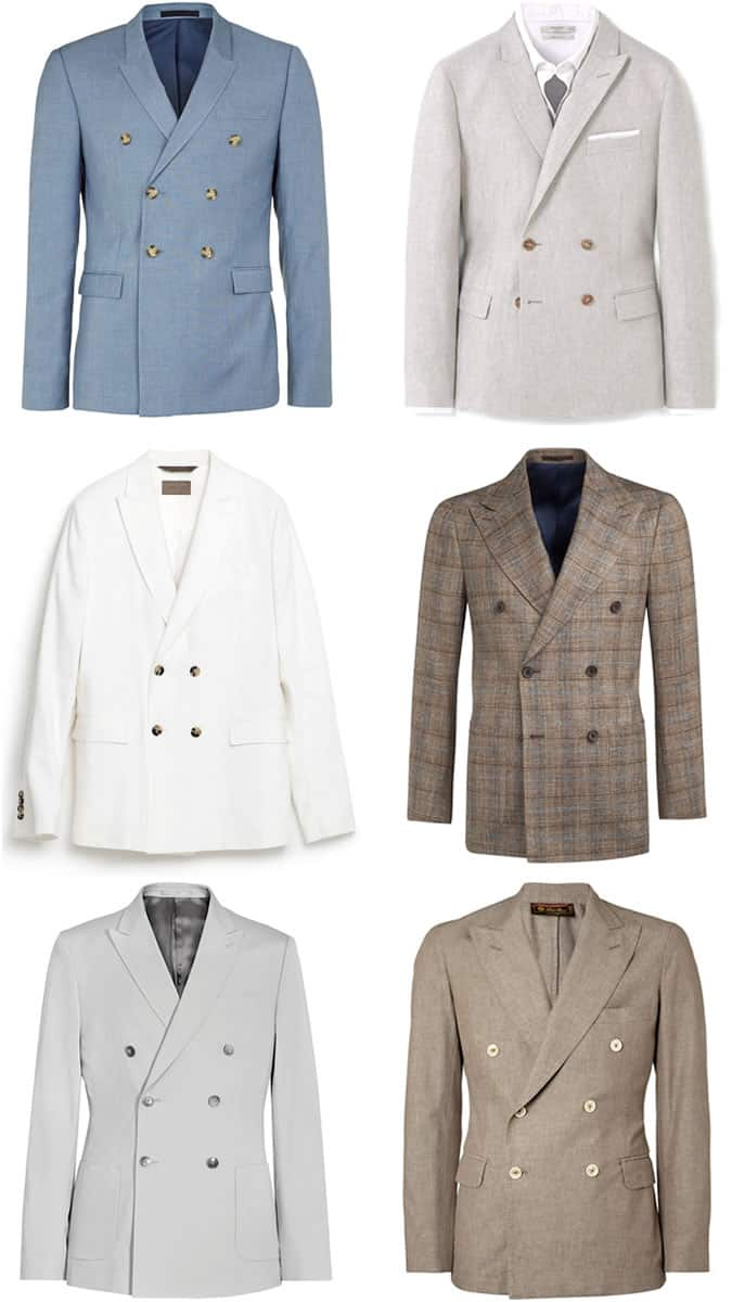 Men's Double-Breasted Blazers