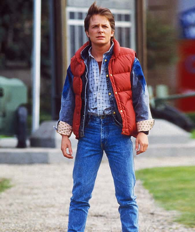 Michael J. Fox/Marty McFly in Back to the Future