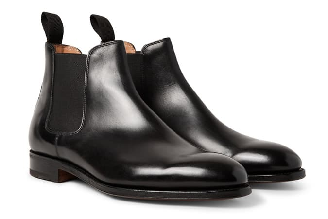 John Lobb Lawry Polished-Leather Chelsea Boots