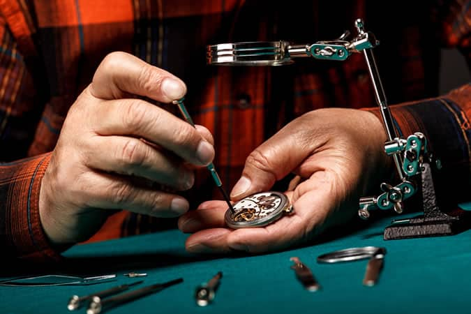 Watchmaking is an art form
