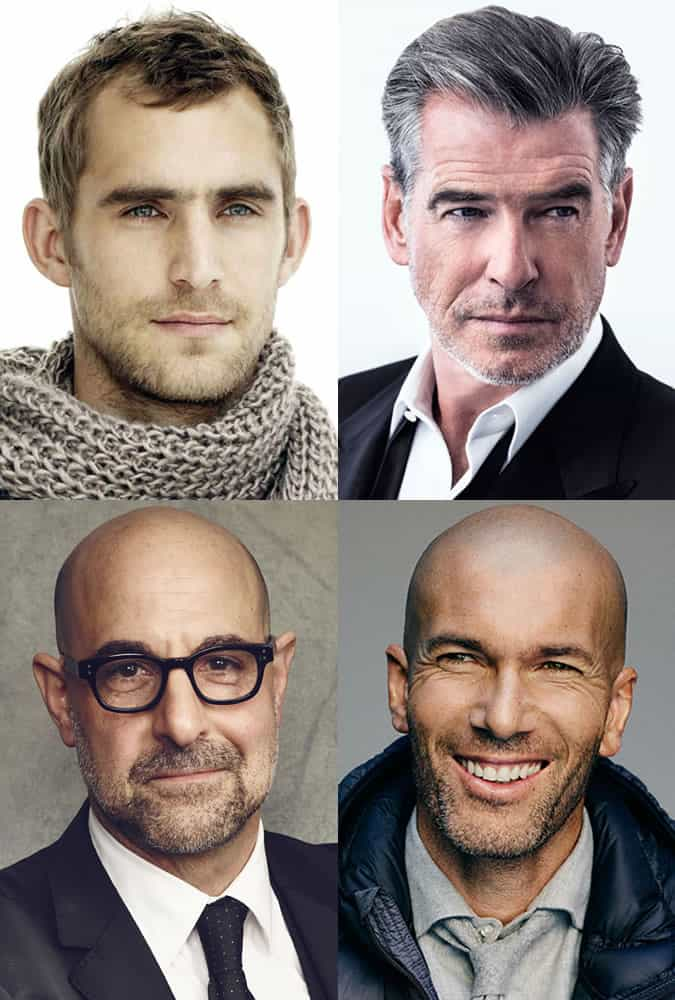 Men's Thinning And Greying Hairstyles