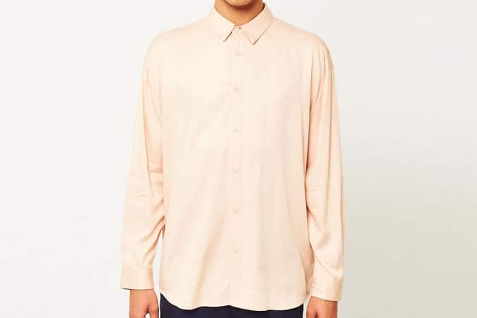 The Idle Man Viscose Shirt