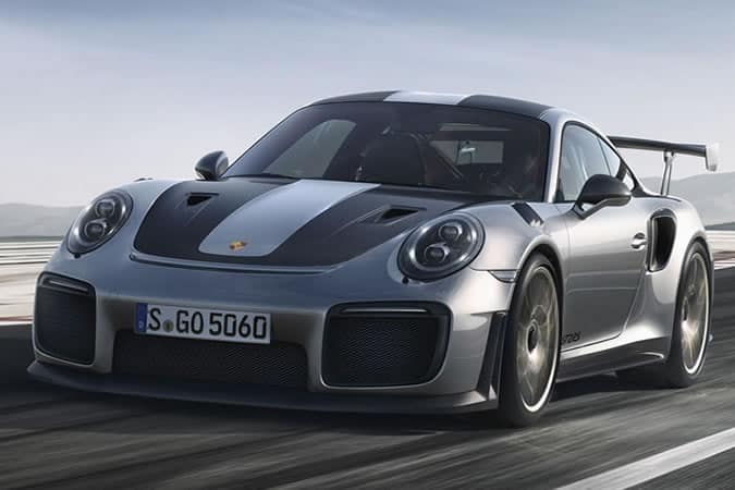 Porsche 911 GT2 RS on the road