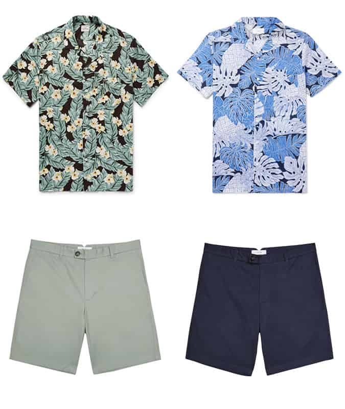 Montgomery Clift summer outfit clothing