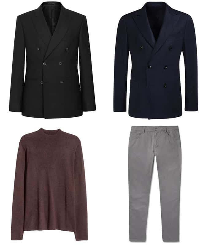 How To Wear A Roll Neck With A Double-Breasted Blazer