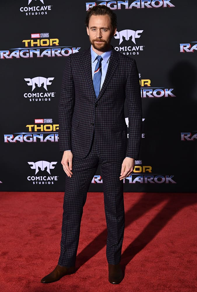 Tom Hiddleston Thor: Ragnarok Premiere