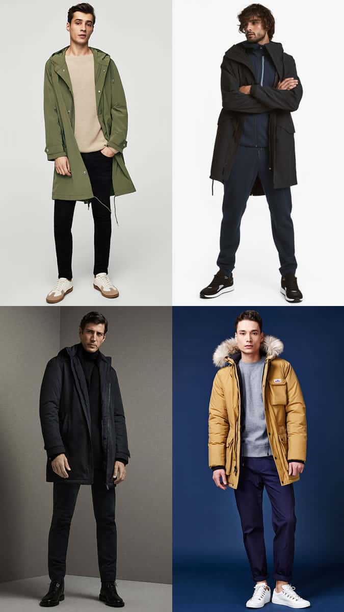 how to wear a parka jacket