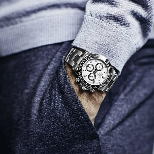 How to wear a Rolex Daytona watch