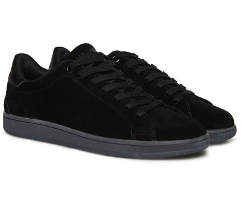 Sleek Tennis Low Premium Trainers