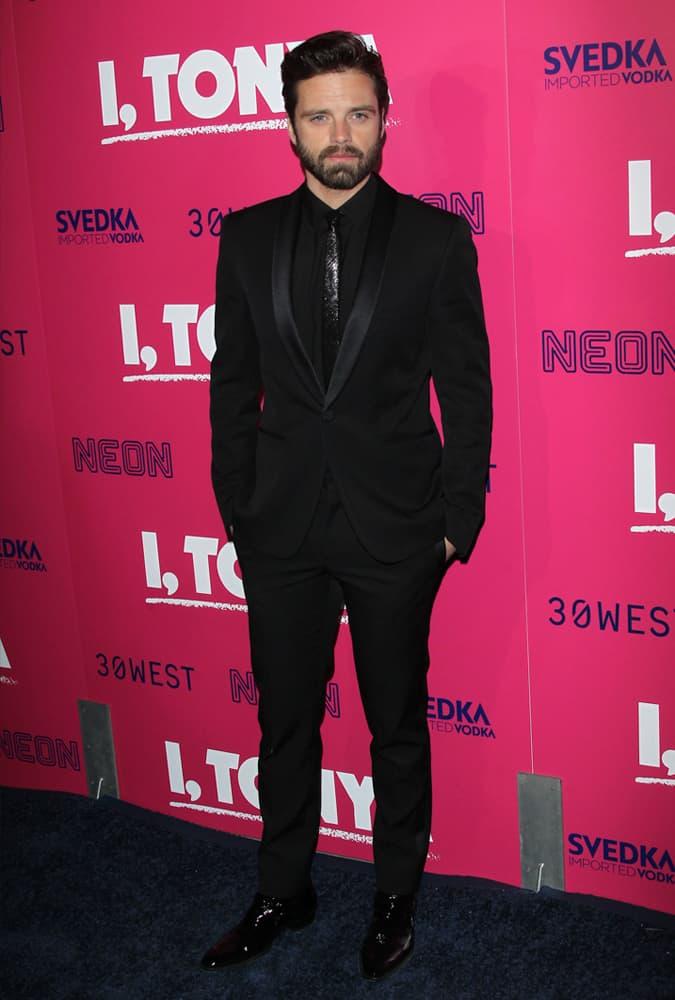 Sebastian Stan At The I, Tonya Premiere