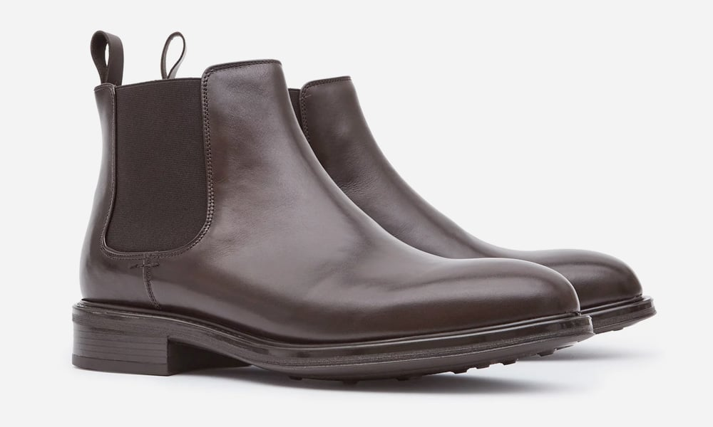 Chalmer Leather Chelsea Boots