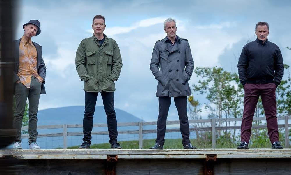 Ewen Bremner, Ewan McGregor, Jonny Lee Miller And Robert Carlyle In Trainspotting 2