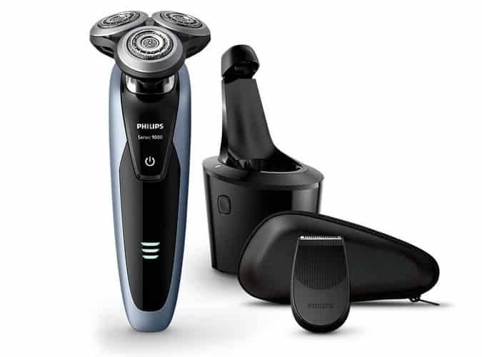 Philips Series 9000 Shaver & Laser-Guided Beard Trimmer