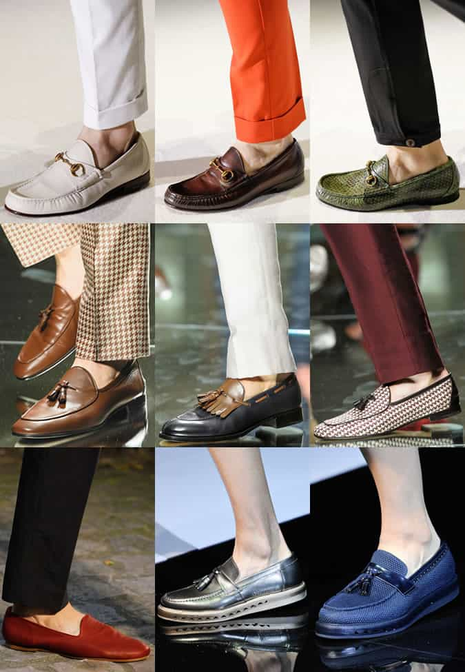 Men's Loafers On Gucci, Zegna, Hermes and Armani SS13 Catwalks