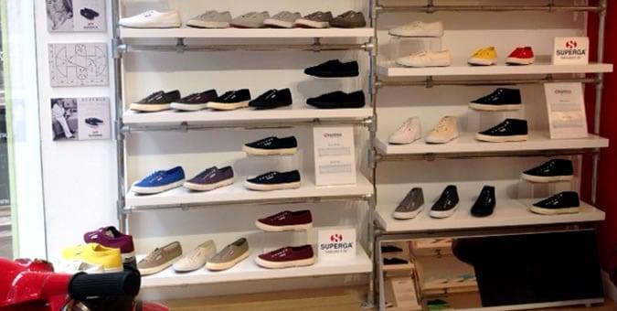 Superga Re-Locates London Flagship Store