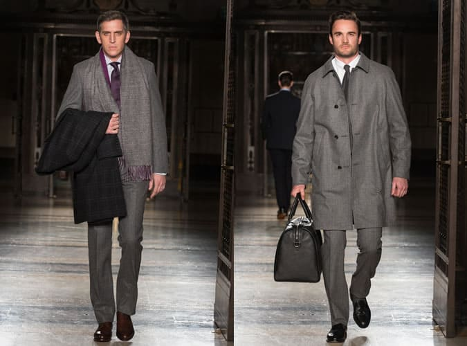 Grey Flannel Suits On AW14 Hackett Runway