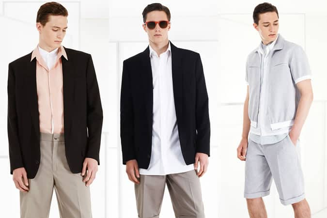 Hussein Chalayan SS15 Menswear Collection