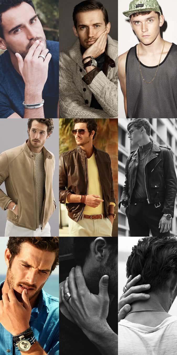 Men's Classic and understated jewellery lookbook