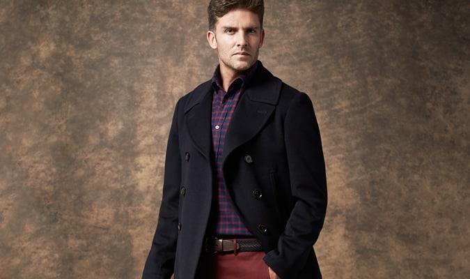 Men's Crombie Outerwear