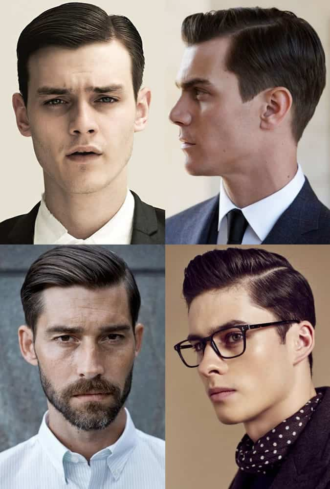Men's Short Back and Sides Hairstyles - The Side Parting