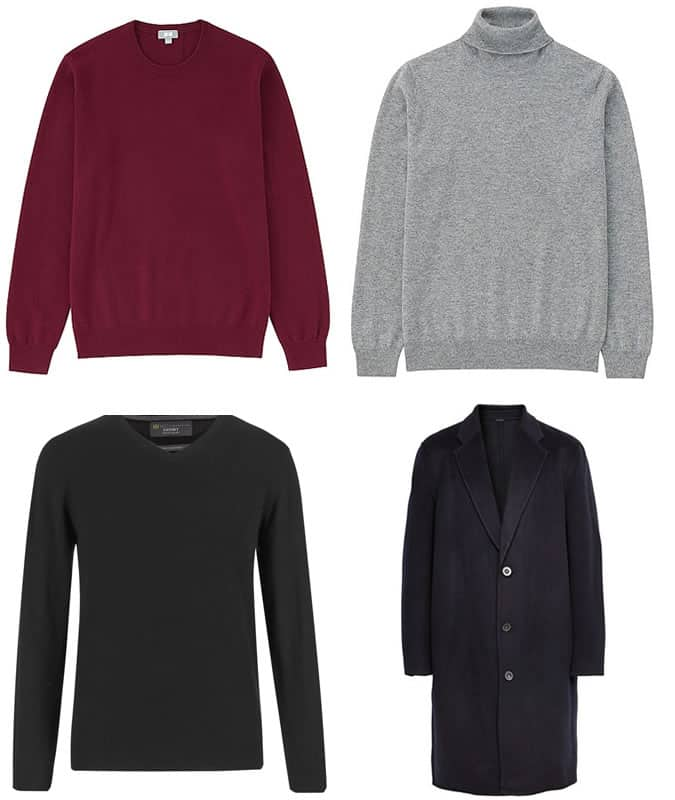 Men's Cashmere Jumpers and Coats