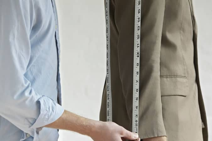 A tailor can help make that budget suit look more expensive