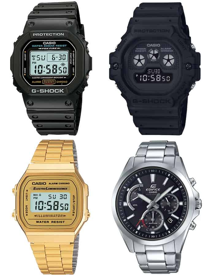 Men's Casio and G-Shock Watches