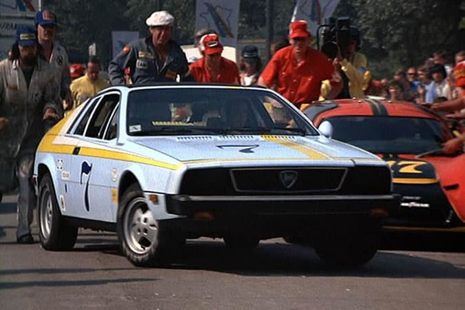 Lancia Montecarlo From Herbie Goes To Monte Carlo
