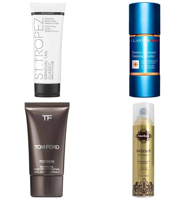 The Best Tanning Products For Men