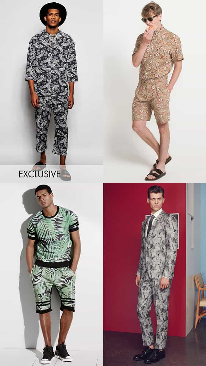 Men's Floral Coordinating Outfit Inspiration Lookbook