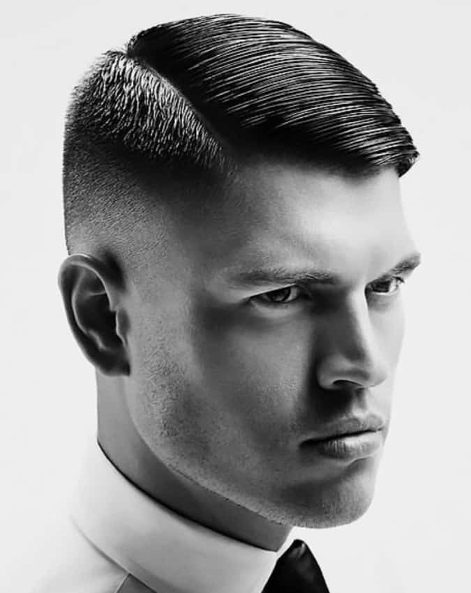 10 Hairstyles That Look Great With A Fade - Combover Fade