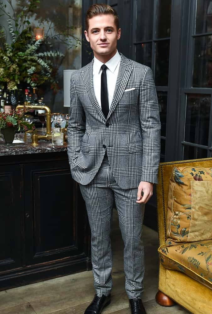 Robbie Rogers at Esquire's Style Mavericks of the Year event