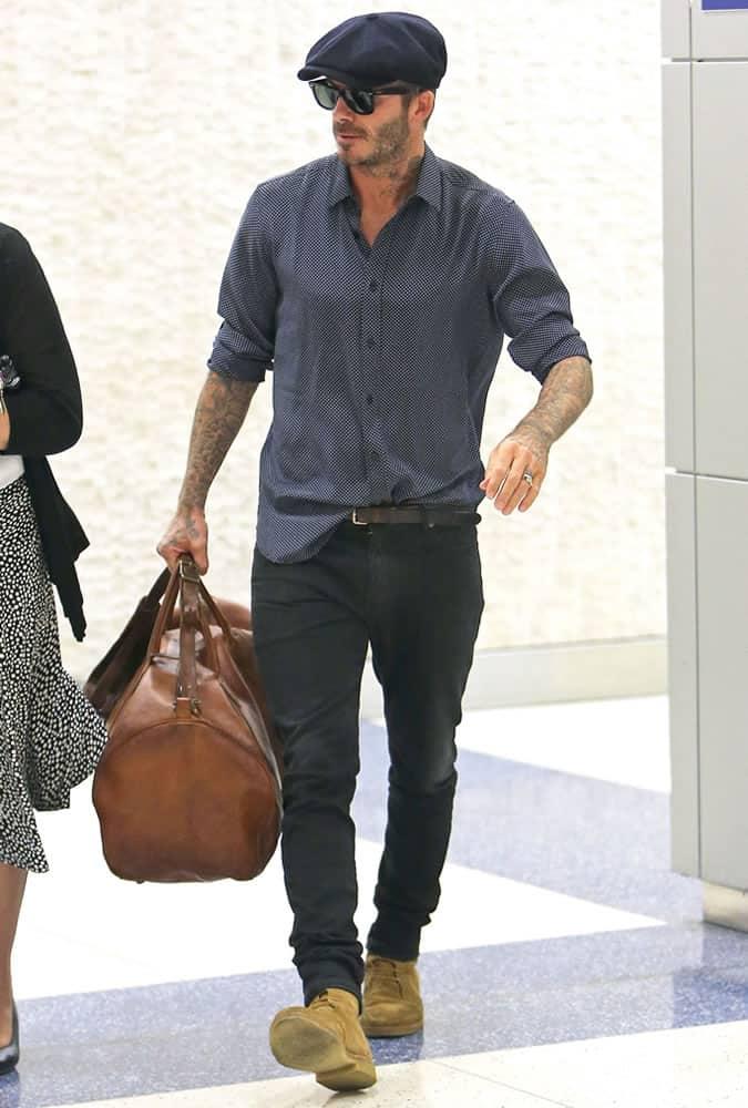 David Beckham Best Street Style