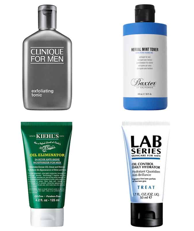Men's Oil-Control Grooming Products