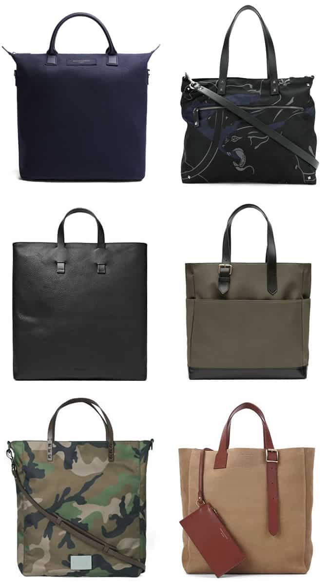 Men's Luxury and Printed Totes