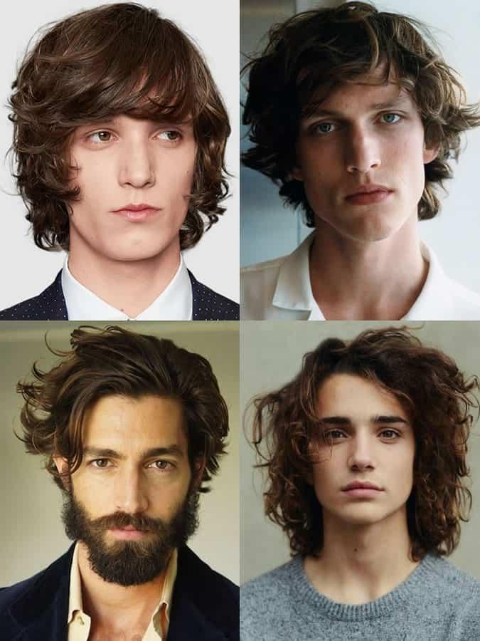 Men's Long Wavy Hairstyles